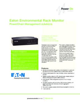 Eaton Environmental Rack Monitor brochure - Power On